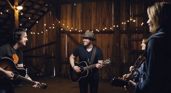 Mitchell Tenpenny with The SteelDrivers